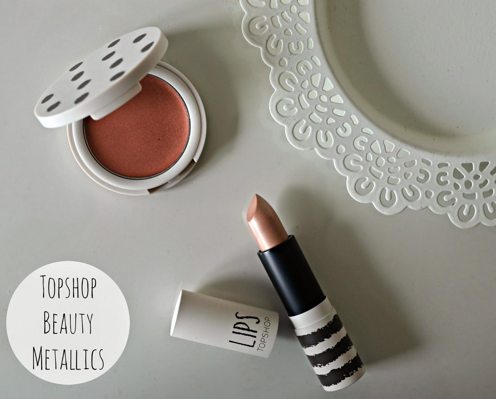 Topshop beauty: Molten Metallics