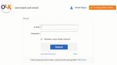 Cara Pasang Iklan di OLX.co.id 2015 - Step 2