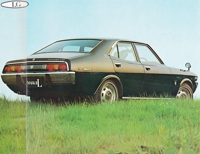 Toyota Corona Mark II, X10, LG, sedan, japońskie auto, motoryzacja z japonii