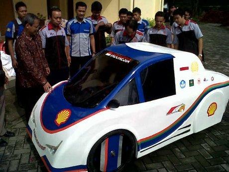 Mobil listrik Unesa
