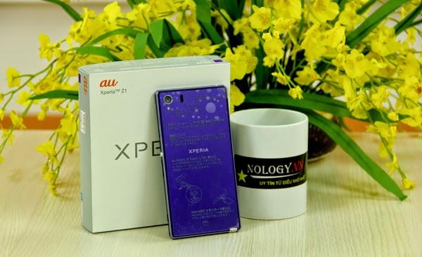 Cách test Sony Xperia Z1 Au Nhật Bản