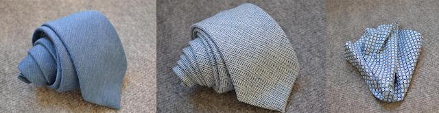 Review corbatas y pañuelo de GENTL.