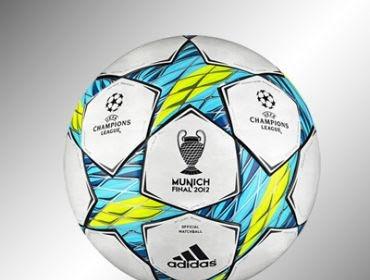 Desain Bola Final Champion 2012