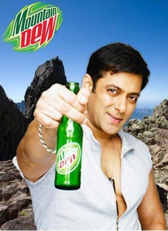 salman khan latest wallpapers. Salman Khan#39;s New Mountain Dew