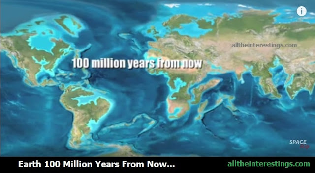 earth after 100 million years from now, Earth if all the ice melted