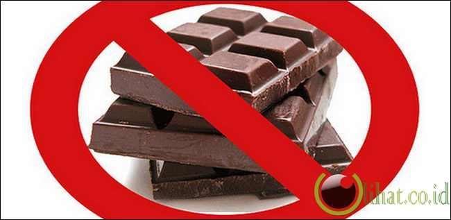 Kurangi makan cokelat