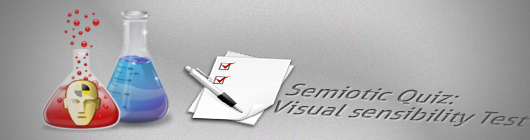 Semiotic Quiz: Visual sensibility Test