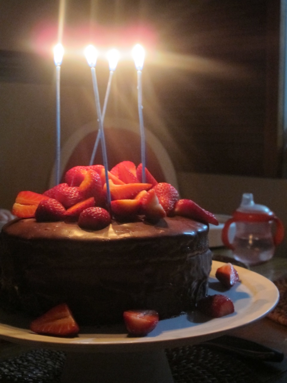 Muppys Chocolate Quinoa Cake With Rosewater Ganache