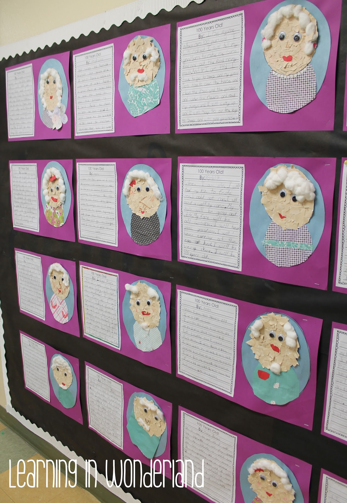 100th day of school craft learning in wonderland for 100th day of school decoration ideas