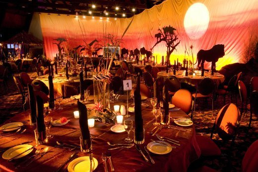 Wedding flower wedding candles wedding decorating for African party decoration ideas