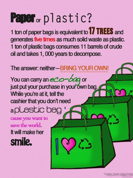 how to reduce plastic bag use essay