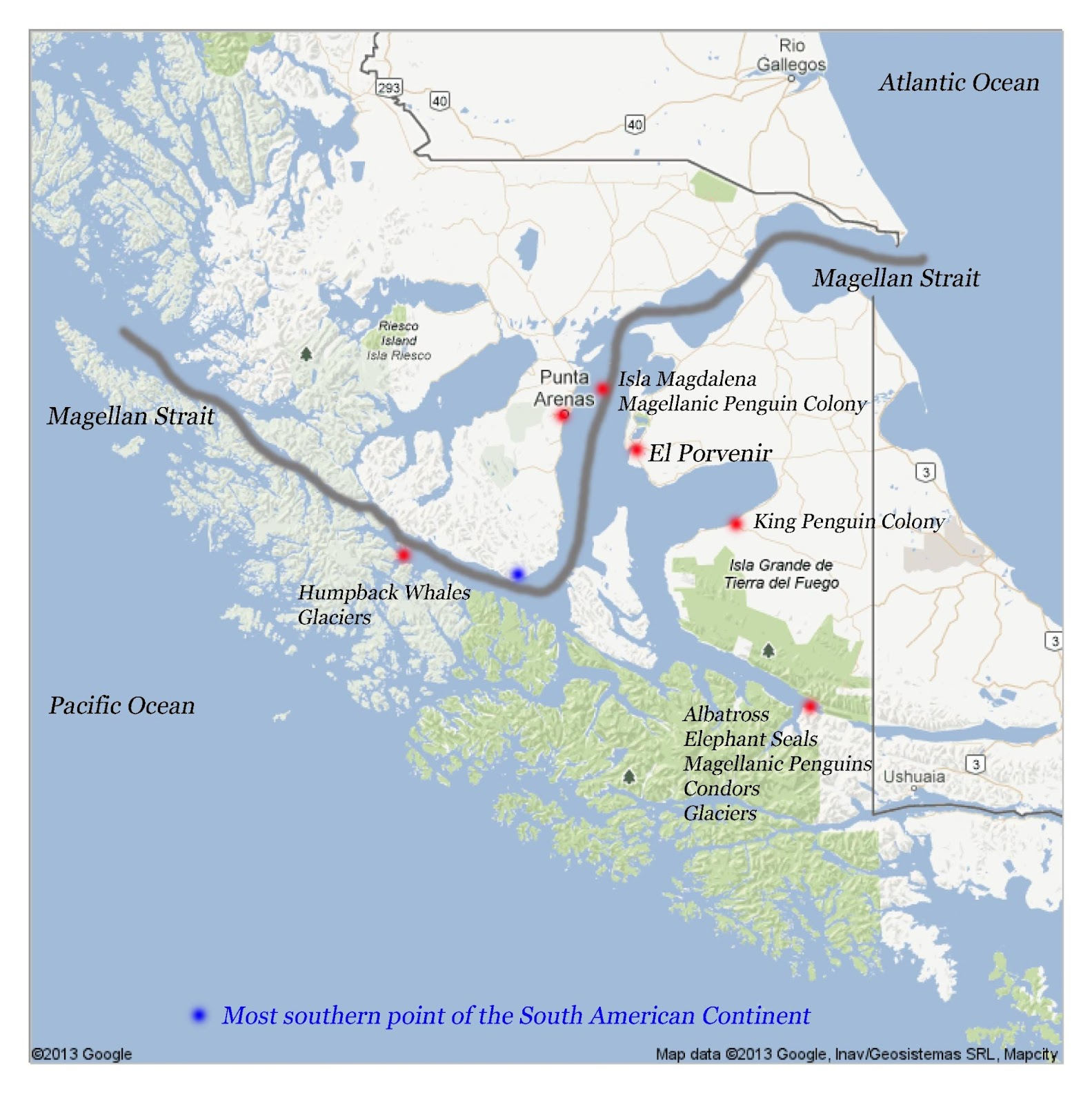 USS Ronald Reagan Navigates Strait of Magellan