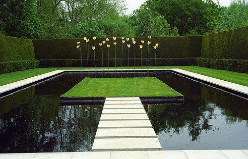 Paisajismo pueblos y jardines arquitectura de paisaje - Paisajismo minimalista ...