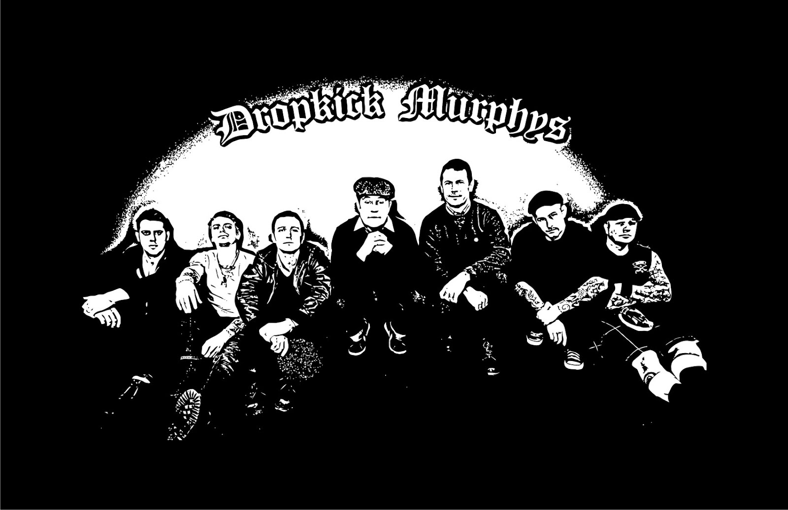 dropkick_murphys-group_back_vector