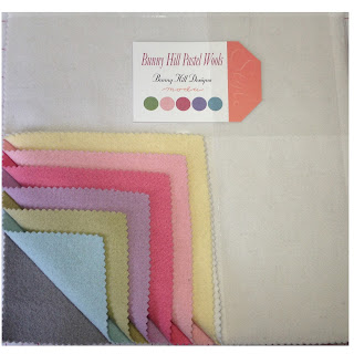 Moda BUNNY HILL PASTEL WOOLS Quilt Fabric by Bunny Hill Designs