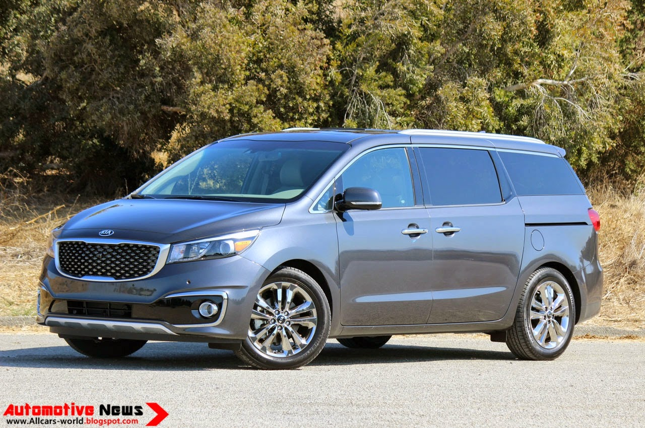 automotive news 2015 kia sedona review. Black Bedroom Furniture Sets. Home Design Ideas