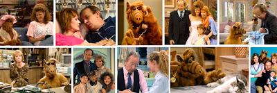 Escenas de la ficción televisiva ALF