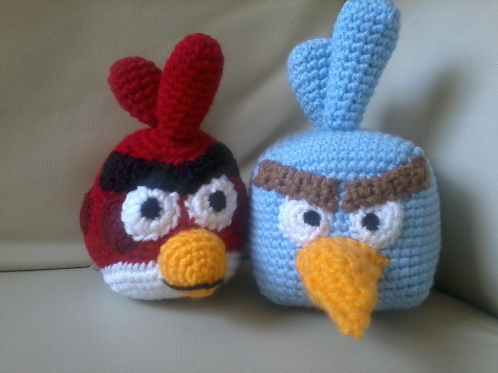 Amigurumi Angry Birds Space : Creaciones y tejidos de Maggie