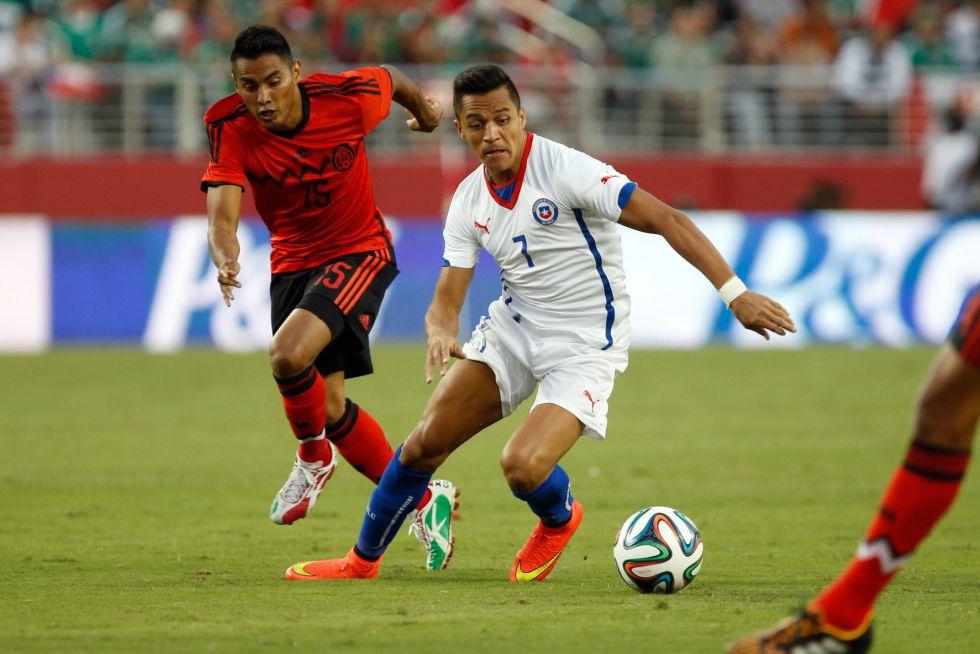 La Seleccion Mexicana de futbol empató ante la Selección de Chile en partido amistoso | Ximinia