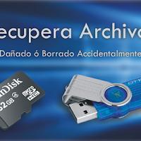 Recuperar Archivos de Memorias o USB - Nuevo Método