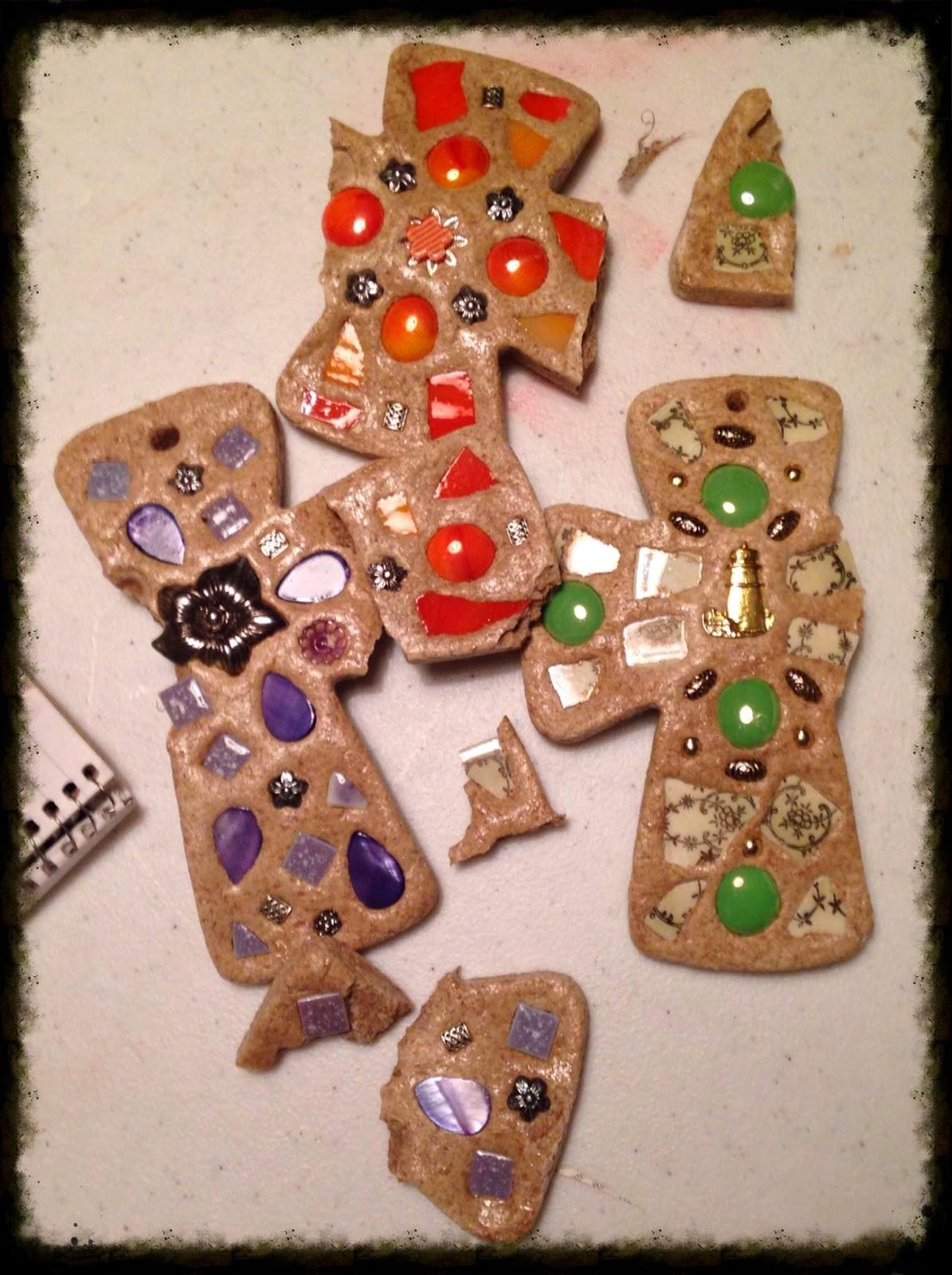 Bread of Life Mosaic Crosses