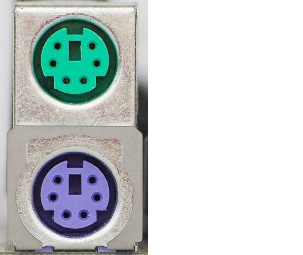 """<img src=""""http://3.bp.blogspot.com/-QMWpZHYhA-4/UiYke9exV3I/AAAAAAAAAaY/sKfPlT51MBo/s1600/gambar+1.2.jpg"""" alt=""""Port PS/2. Port warna hijau (atas) digunakan untuk mouse dan warna ungu (bawah) untuk keyboard""""/>"""