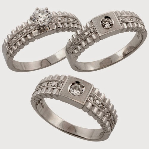 piece wedding rings sets cheap 2014 for women