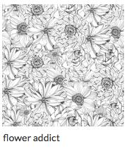 Mon papier peint en vente sur Spoonflower