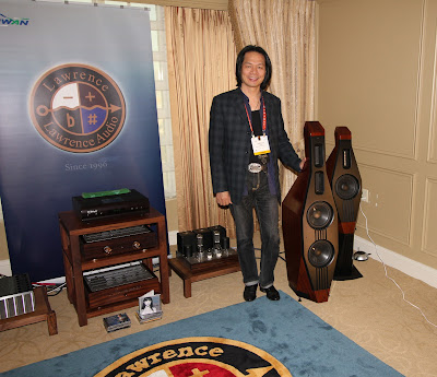 Cello Speakers - Lawrence Audio - CES 2012