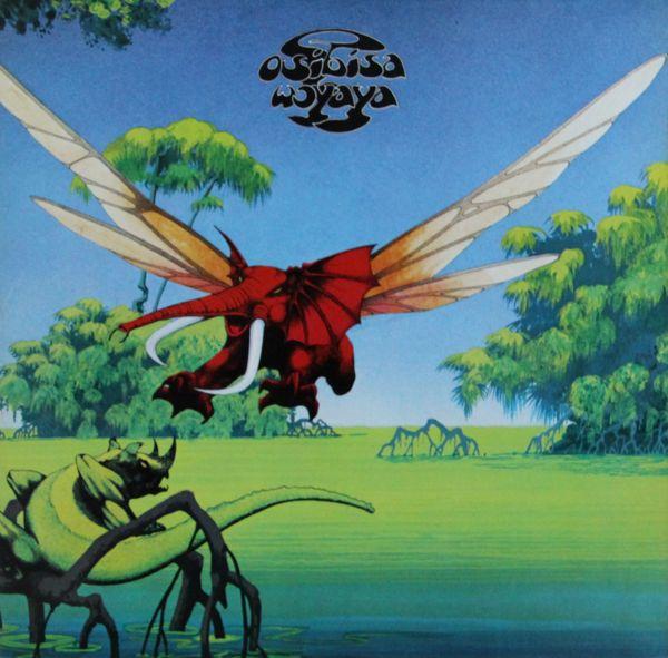 Osibisa - Woyaya album cover