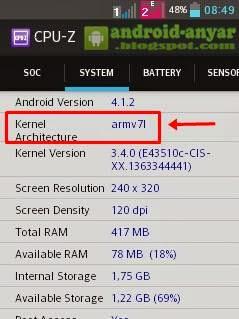 Cara menggunakan aplikasi CPU-Z di Android