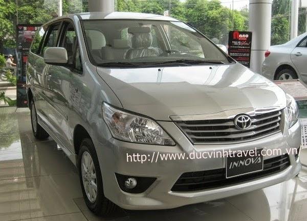 Cho thuê xe Toyota Innova