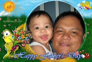MyeDomain's Great Providers - Kiko with his Papa Ariel