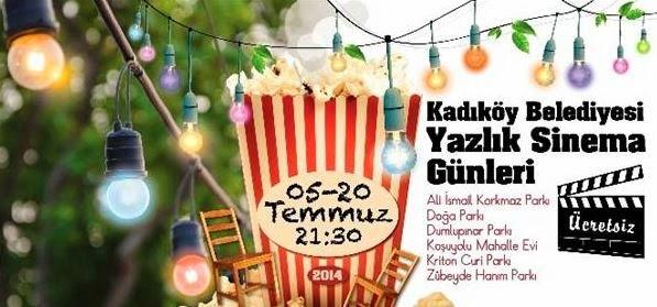 İstanbul'da Açıkhava Sineması / Yazlık Sinema