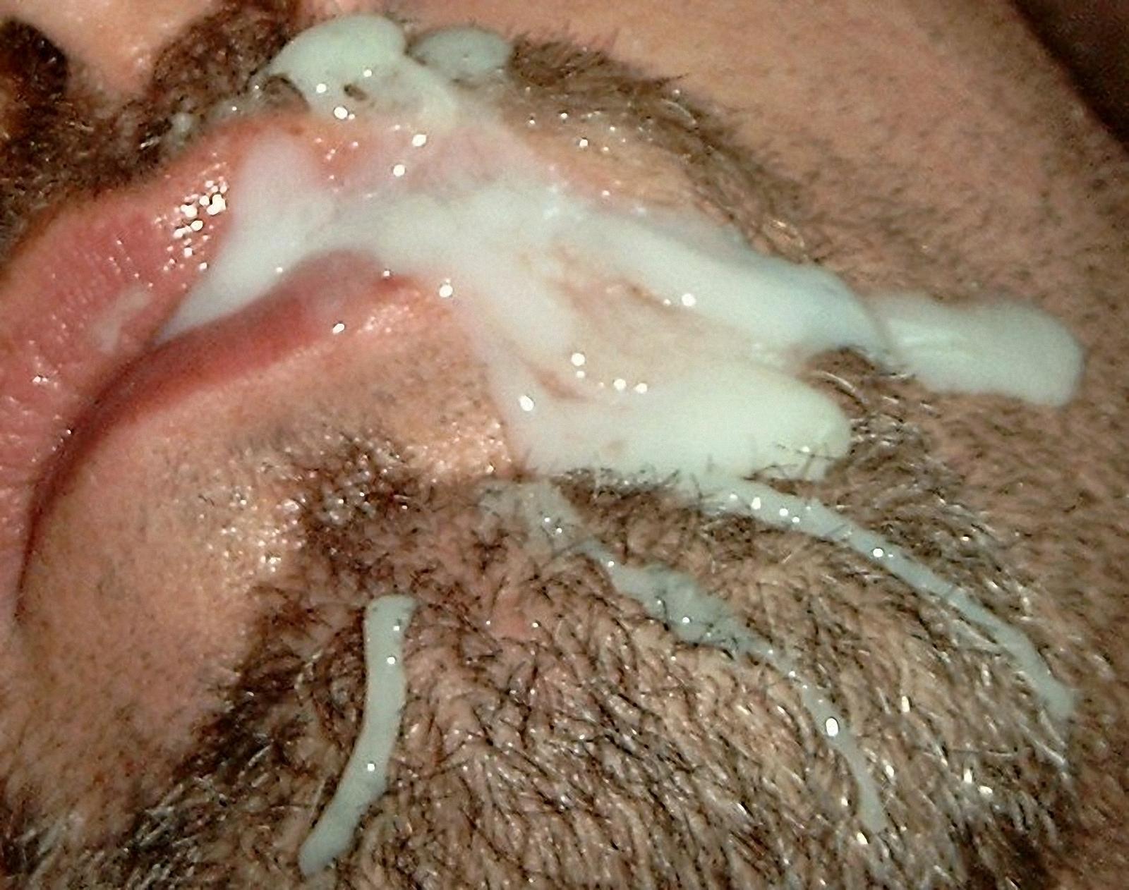 Сперма на лице мужика фото 3 фотография