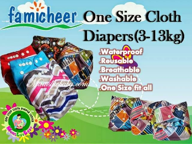 Famicheer Cloth Diapers