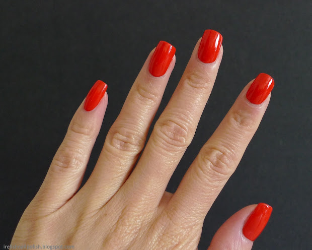 relish nail polish revlon red
