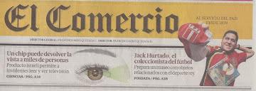 Entrevista El Comercio (Perú)