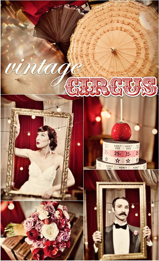 Vintage circus wedding Gala ~ Home Decorating Ideas