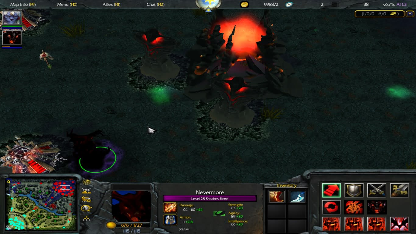 dota 2 mode for warcraft 3 wardota2 lancraft