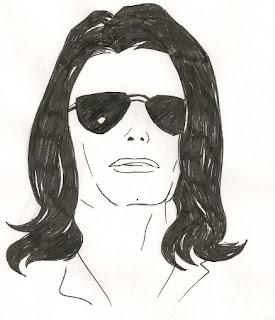 Desenhos Preto e Branco Michael Jackson Colorir