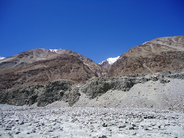 Mountains, Himalayas, Shayok River
