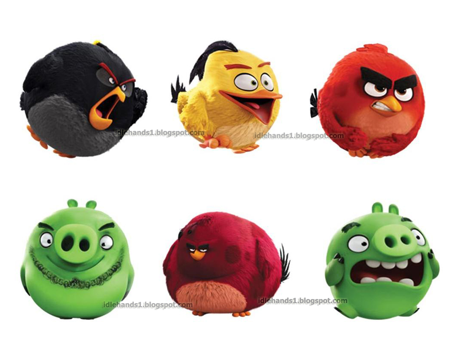 Angry Birds Toys : Idle hands toy fair spin master s angry birds ready