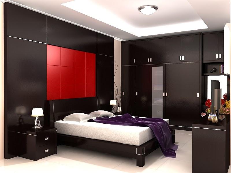 Desain Interior Kamar Tidur Rumah Minimalis Dengan Konsep Modern