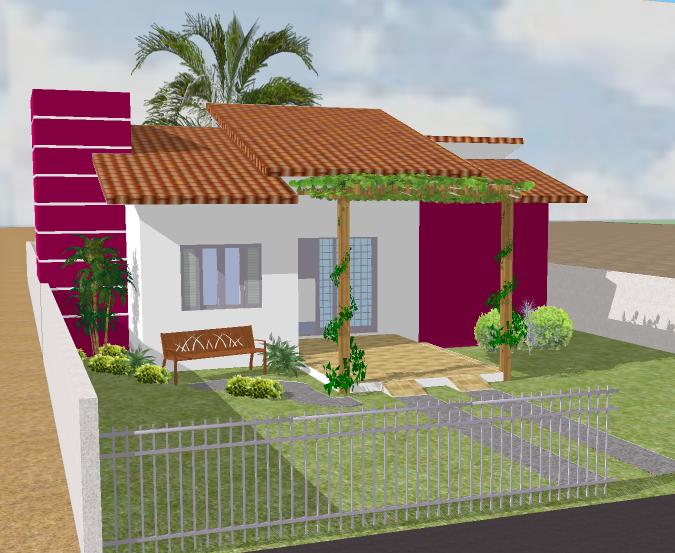 Casas pequenas e bonitas coisas pra ver for Modelos de casas pequenas y bonitas