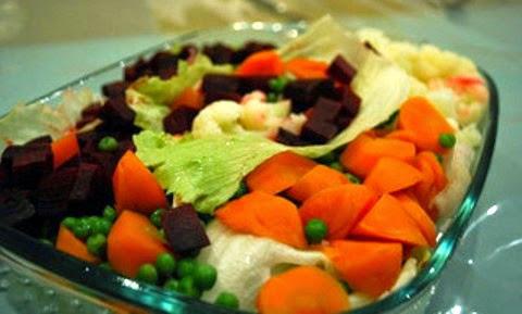 Classic Macedonian Salad