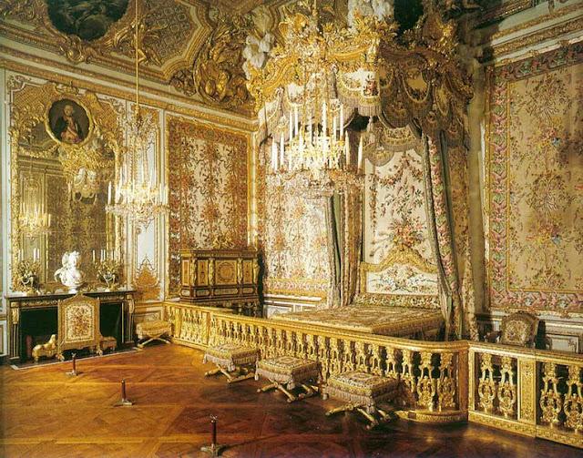 Комната королевы в Версале.