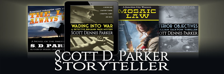 Scott D. Parker: Storyteller