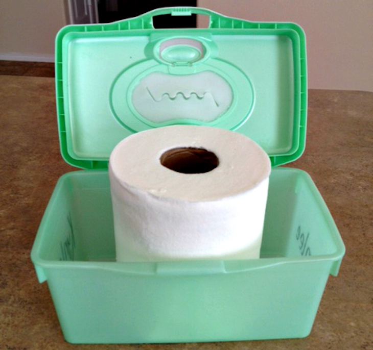12 brilliant ways to reuse baby wipe containers   diy