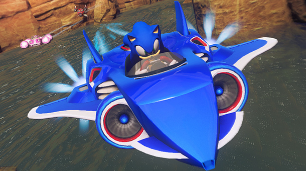 em novo trailer de Sonic & All-Stars Racing Transformed (PS3/PSVita